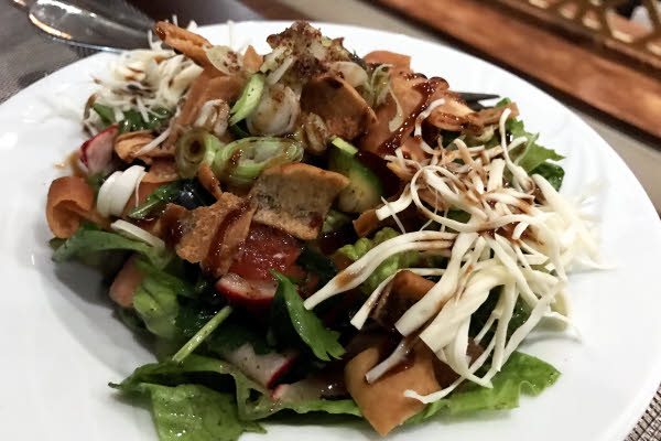 Fattoush thumbnail (click to enlarge)