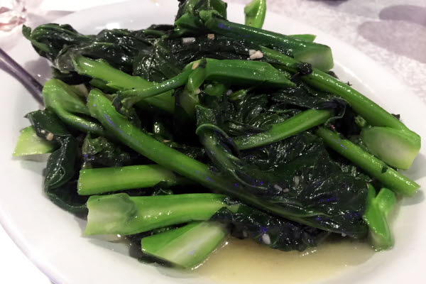 Chinese Broccoli with Garlic Sauce thumbnail (click to enlarge)