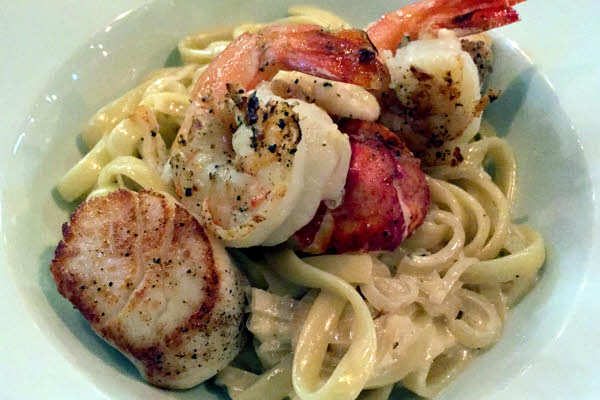 Seafood Fettucini thumbnail (click to enlarge)
